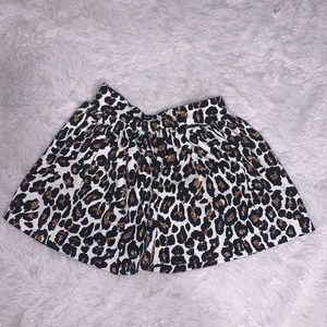 Cheetah print skirt ( 2 for $10)